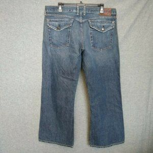 Lucky Brand Relaxed BootCut Mens Jeans Size 36 L27